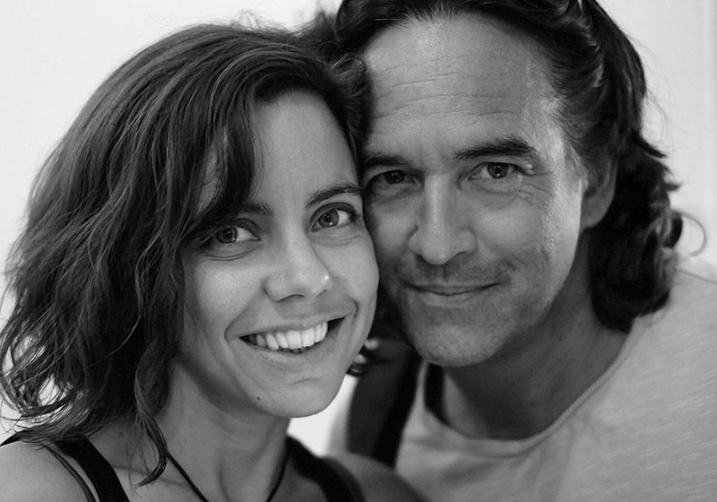 Die Betreiber des HONIC in Wien - Dominic Chan und Larissa Enter