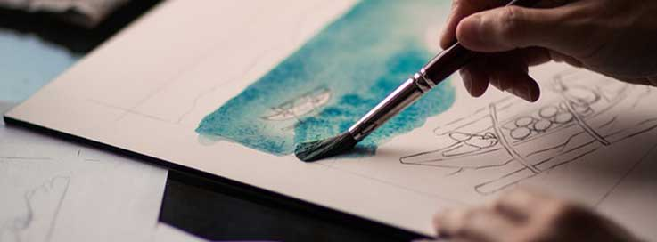 Kunsttherapie ermögicht freie Gedanken