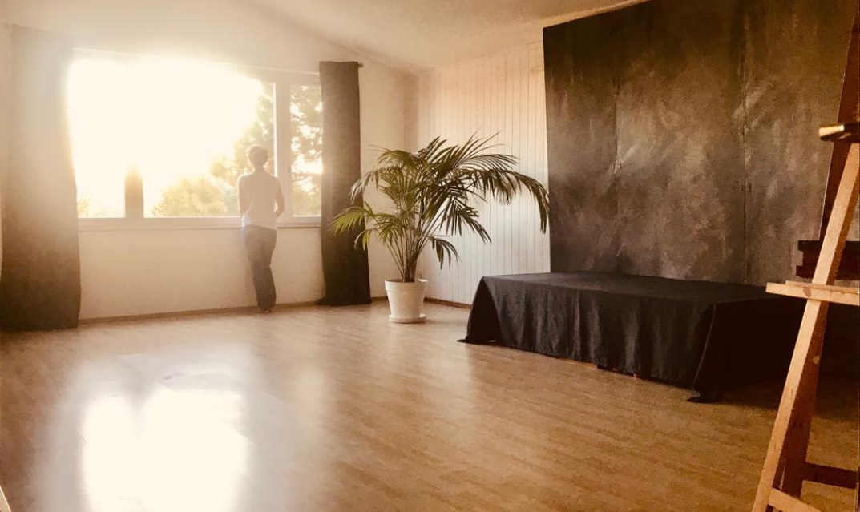 Atelier-Raum im Kunstzentrum HONIC in Wien 23